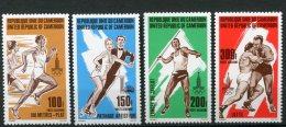 7995  CAMEROUN   PA 301/4 **  Jeux Olympiques De Lake Placid Et De Moscou     1980    TTB - Camerun (1960-...)