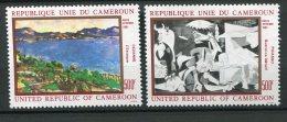 7998  CAMEROUN   PA 309/10 **  Paul Cézanne Et  Pablo Picasso     1981    TTB - Camerun (1960-...)