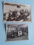 Vieux VOITURE / OLD Cars / Classic CARS ( Zie Foto's Voor Details ) 2 Foto's ! - Automobiles