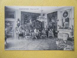 CLERE LES PINS. Le Château De Champchevrier. Le Salon Louis XIV. - Cléré-les-Pins