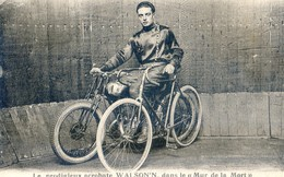 Le Prodigieux Acrobate Walson'n , Dans Le Mur De La Mort - Moto - Cirque