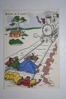 Afrique - Illustration P. Huguet - Quiétude De La Sieste - Cartes Postales