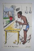 Afrique - Illustration P. Huguet - L'art De La Mayonnaise - Cartes Postales