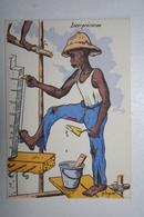 Afrique - Illustration P. Huguet - Interprétation - Cartes Postales