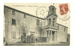30 GALLARGUES TEMPLE PROTESTANTISME RELIGION GARD - Gallargues-le-Montueux
