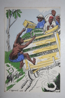 Afrique - Illustration P. Huguet - L'Apprenti Calé - Cartes Postales