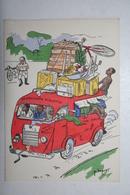 Afrique - Illustration P. Huguet - La Soucoupe Violante - Cartes Postales