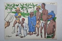 Afrique - Illustration P. Huguet - L'Appel - Cartes Postales
