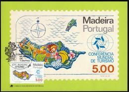 Portugal Madeira 1980 / World Tourism Conference, Manila, Philippines / Fruits / Maximum Card, MC, MK - Other