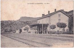12. ST-ROME-DE-CERNON. La Gare - France