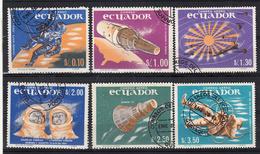 Ecuador 1966 Mi Nr  1208 - 1213, Ruimtevaart, Space, Gemini 5 + 6  (1) - Ecuador