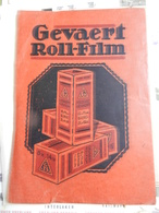 7a) BUSTA PER NEGATIVI FOTOGRAFICI GEVAERT CREDO 1930 CIRCA - Supplies And Equipment
