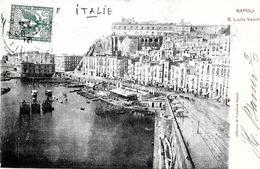 Napoli (Naples). Santa Lucia Vecchia. - Napoli (Naples)