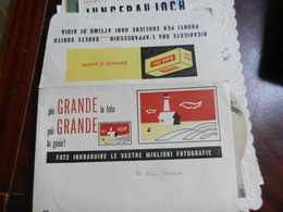 7a) BUSTA PER NEGATIVI FOTOGRAFICI KODAK FILM CREDO 1950 CIRCA - Materiale & Accessori