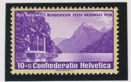 SUISSE Pro Patria 1938:  ZNr B1y, Neuf**, TB - Neufs