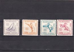Cuba Nº 532 Al 533 Y A212 Al A213 - Cuba