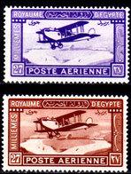 Egitto-044 - Emissione DI POSTA AEREA 1926-29 (+) LH - Senza Difetti Occulti. - Posta Aerea