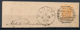 ITALY - Regno 1867 - Vittorio Eman II - 20 Cent  Fancy Cancel Numeral Used Lot#2 - 1861-78 Vittorio Emanuele II