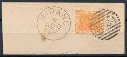 ITALY - Regno 1867 - Vittorio Eman II - 20 Cent  Fancy Cancel Numeral Used Lot#4 - Usati