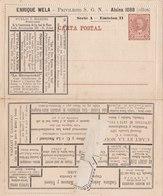 Carta Postal - Serie A - Emision II - Entiers Postaux