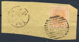 ITALY - Regno 1867 - Vittorio Eman II - 20 Cent  Fancy Cancel Numeral Used Lot#5 - 1861-78 Vittorio Emanuele II