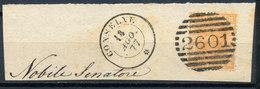 ITALY - Regno 1867 - Vittorio Eman II - 20 Cent  Fancy Cancel Numeral Used Lot#6 - Usati