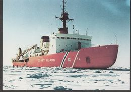 Icebreaker USCGC Polar Sea Photocard (39870) - Poolshepen & Ijsbrekers
