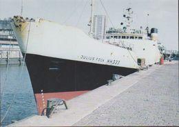 """Polar Ship """"Julius Fock""""  Photocard (39872) - Poolshepen & Ijsbrekers"""