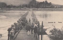 Brückenbau Der Pioniere Du 19. Pion Regt 19 De Strasbourg - Marcofilie (Brieven)