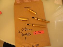 2 Stylo Plume , VRAIMENT à VOIR Et ETUDIER,lire Description,,important - Pens