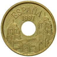 Monnaie, Espagne, Juan Carlos I, 25 Pesetas, 1997, Madrid, TTB, Aluminum-Bronze - [ 5] 1949-… : Royaume