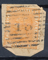 ITALY - Regno 1867 - Vittorio Eman II - 20 Cent  Fancy Cancel Numeral Used Lot#66 - Used