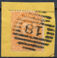 ITALY - Regno 1867 - Vittorio Eman II - 20 Cent  Fancy Cancel Numeral Used Lot#72 - 1861-78 Vittorio Emanuele II