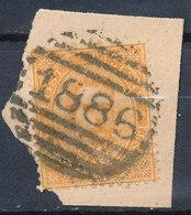 ITALY - Regno 1867 - Vittorio Eman II - 20 Cent  Fancy Cancel Numeral Used Lot#73 - 1861-78 Vittorio Emanuele II