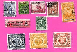 3180  --  EQUATEUR  --  Lot  De  Timbres  De  Servie  Oblitérés - Equateur