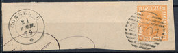 ITALY - Regno 1867 - Vittorio Eman II - 20 Cent  Fancy Cancel Numeral Used Lot#78 - Usati