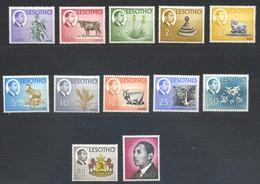 Lesotho, Yvert 131/142, Scott 25/36, SG 125/136, MNH - Lesotho (1966-...)