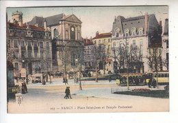 Sp- 54 - NANCY - Place Saint Jean Et Temple Protestant - Timbre - Cachet - 1924 - Nancy