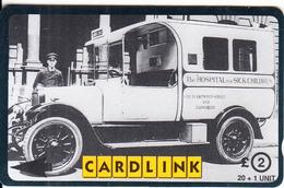 UK(GPT) - Great Ormond Street Hospital/The Italian Wing, Cardlink Telecard 2 Pounds, CN : 3CLKD, Tirage 3000, Used - Ver. Königreich