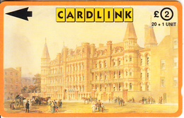 UK(GPT) - Great Ormond Street Hospital/The Italian Wing, Cardlink Telecard 2 Pounds, CN : 3CLKC, Tirage 3000, Used - Ver. Königreich