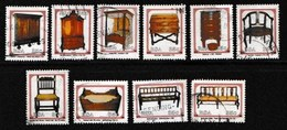 SOUTH AFRICA 1992 Used Stamps Cape Furniture 845-854 #3618 - Art