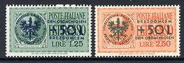 LAIBACH 1944 Orphans Fund LHM / *.   Michel 31-32 - Occupation 1938-45