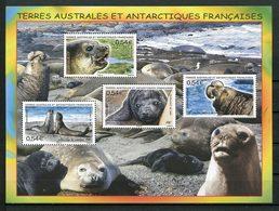TAAF 2008 Bloc N° 19 ** ( 508/511 ) Neuf MNH Superbe C 8 € Faune Animaux Eléphant De Mer Animals Fauna - Blocs-feuillets