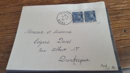 LOT 409102 TIMBRE DE FRANCE OBLITERE DUNKERQUE SIGNE ROUMET ET CALVES  BLOC - Liberation