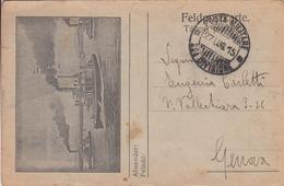 Presa In Tasca Ad Un Austriaco-Posta Militare Navi Da Guerra-Storia Postale-Vg Il 27.07.1915-Originale 100%an1--2 Scan- - Guerra