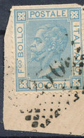 ITALY - Regno 1867 - Vittorio Eman II - 20 Cent  Fancy Cancel Numeral Used Lot#90 - Used