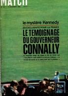 PARIS MATCH N°921 DU 3 DECEMBRE 1966 - Informations Générales