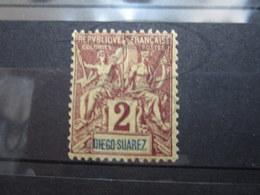 VEND BEAU TIMBRE DE DIEGO-SUAREZ N° 39 , X !!! - Diégo-Suarez (1890-1898)