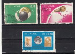 Ecuador 1966 Mi Nr  1292 - 1294 Ruimtevaart Space, Italy - Ecuador