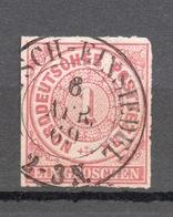 GERMANIA  DEL NORD 1868   1 G. - Norddeutscher Postbezirk